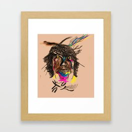 The Cosmic Youth Framed Art Print