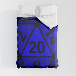 Critical Roll Blue Comforters