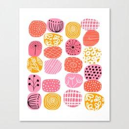 summer garden stories Canvas Print