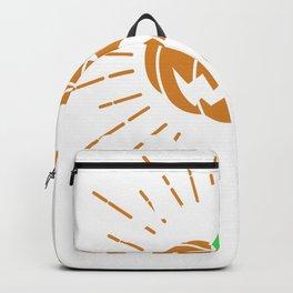 Let's Get Spooky Halloween Jackolantern Backpack
