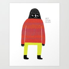 Good Buddy Art Print