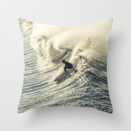 Drop in and live the life. Throw Pillow