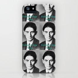 Kafka - feeling strange today iPhone Case