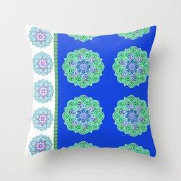 Mandala Royale Throw Pillow