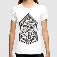 "sacred geometry T-shirts featuring N3O ""Sacred Geometry 1""  by GraffitiWorld"