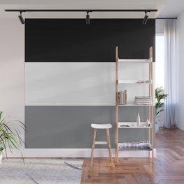 Trio Shades, Black White & Gray Wall Mural