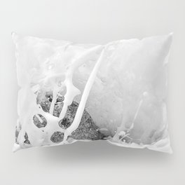 The Shore (Black and White) Pillow Sham