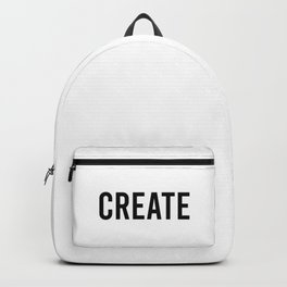 Create Backpack