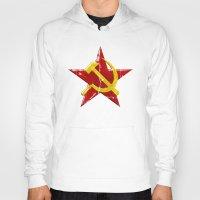 soviet Hoodies featuring Soviet symbol by Emma Harckham