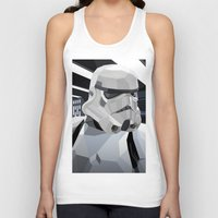 storm Tank Tops featuring Stormtrooper by Liam Brazier