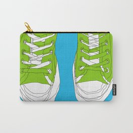 Cons. Art Print. Trainers. Sneakers. Converse All Star. Boys Art. Carry-All Pouch