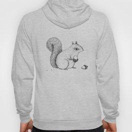 Monochrome Squirrel Hoody