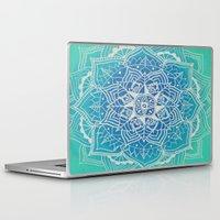 hindu Laptop & iPad Skins featuring Sāgara by AriesArtNW.com
