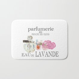 French perfume advertising Bath Mat