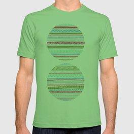 Reddish Pattern T-shirt