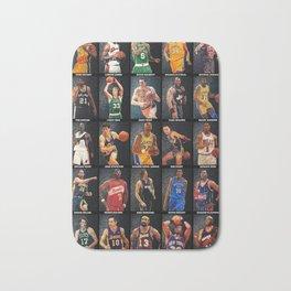 Basketball Legends Bath Mat