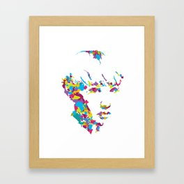 Oh The Places That Make You : Miss Framed Art Print