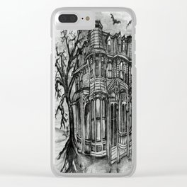 Old Victorian Queen Clear iPhone Case