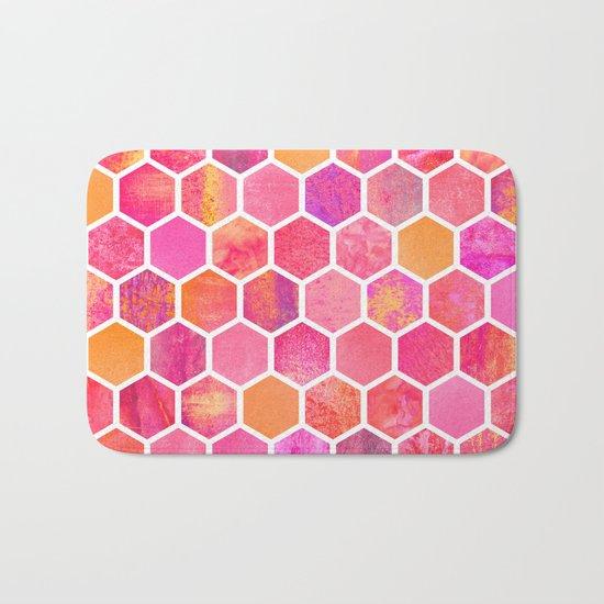 Flowers & Honey Bath Mat