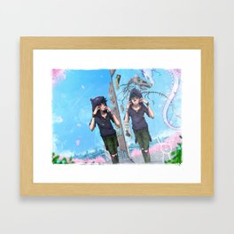 Inner Battles Framed Art Print