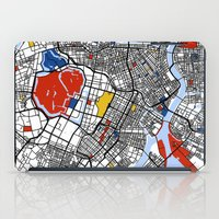 tokyo iPad Cases featuring Tokyo by Mondrian Maps