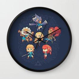 The Cuteness Ballad Wall Clock
