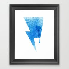 A Blind Neptune Framed Art Print