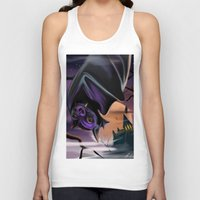 bat Tank Tops featuring Bat by Brandon Heffron