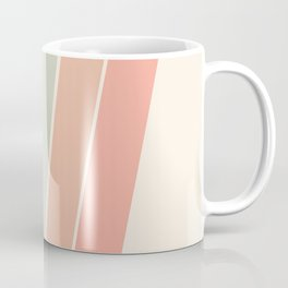 Trippin' - retro 70s socal minimal striped abstract art california surfing vintage Coffee Mug