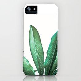 Malibu III (Leaf Print) iPhone Case