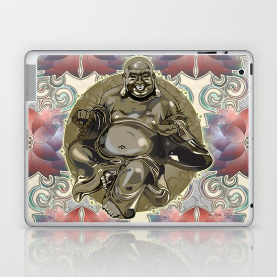 Laughing Buddha Laptop & iPad Skin