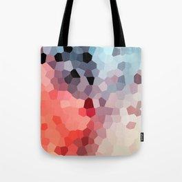 Geometric Flow Vibes Tote Bag