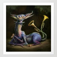 cheshire cat Art Prints featuring Cheshire Cat by Bendragon