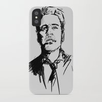 robert downey jr iPhone & iPod Cases featuring Robert Downey Jr by charlotvanh