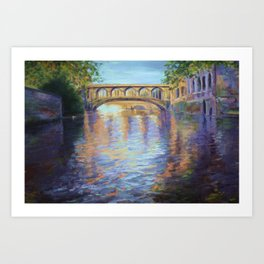 The River Cam Art Print