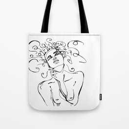 War in the mind Tote Bag