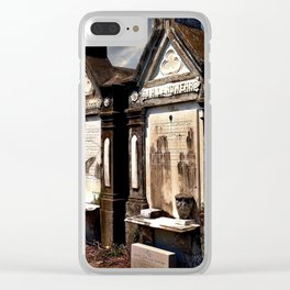 Lafayette Cemetery - Graves Before a Storm Clear iPhone Case