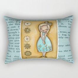 Bloom - by Diane Duda Rectangular Pillow