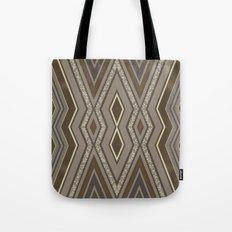 Geometric Rustic Glamour Tote Bag