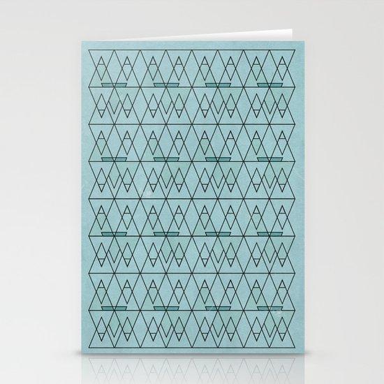 spo·rad·ic  Stationery Cards
