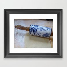 kitchen art Framed Art Print