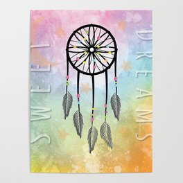 Sweet Dreams Dreamcatcher Poster