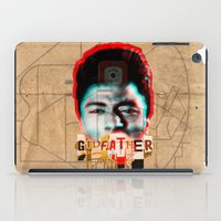 the godfather iPad Cases featuring Godfather by Marko Köppe