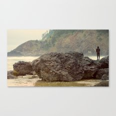 Just Fishing Canvas Print