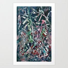 Razor Blades Waterfall Art Print