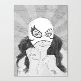 El Club de la Lucha (Tercera Parte) Canvas Print