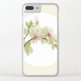 Orchidea Clear iPhone Case