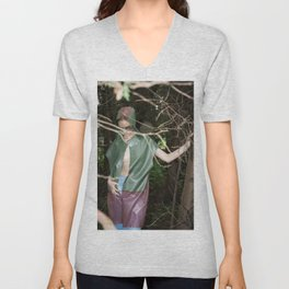 Camouflaged Animals Unisex V-Neck
