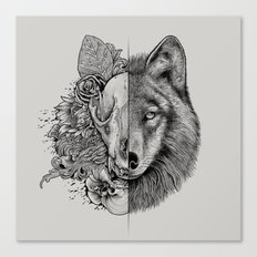 New Wolf (Half Life) Canvas Print