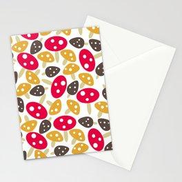 Mod Mushrooms Stationery Cards